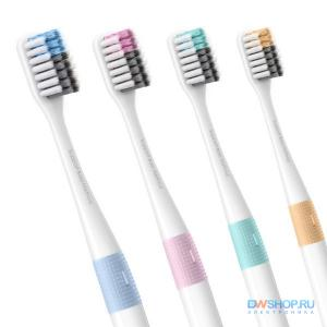 Discount1298 Набор зубных щеток Xiaomi Bass Soft Toothbrush (4pcs/Pack) - картинка 1