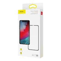 Бронестекло Baseus Full coverage curved iPhone Xr, Black