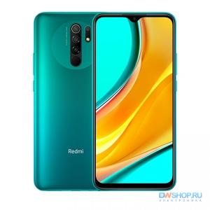 Смартфон Xiaomi Redmi 9 4/64 Green EU (Global Version) - картинка 1