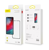 Бронестекло Baseus Full coverage curved iPhone XS Max, Black