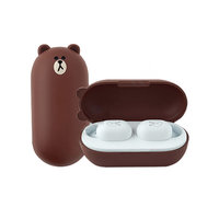 Беспроводные наушники Xiaomi D.Lab Line Friends Tws Bluetooth Headset (Brown)