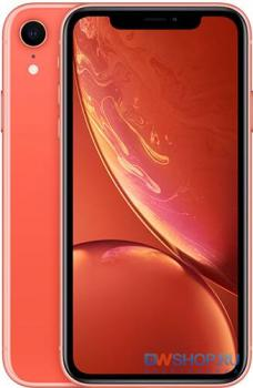 Смартфон Apple iPhone XR 64Gb (Кораловый) RU/A - картинка 1
