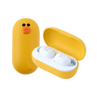 Беспроводные наушники Xiaomi D.Lab Line Friends Tws Bluetooth Headset (Yellow)