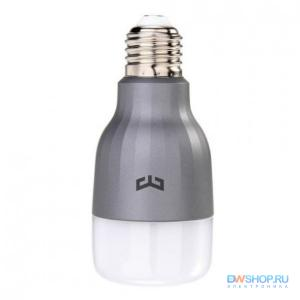 Лампочка Xiaomi Yeelight Smart LED Bulb Color E27 9W 6500K (YLDP02YL) - картинка 1