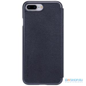 Чехол книжка NILLKIN Sparkle leather case для Apple iPhone 7 Plus / 8 Plus (Gray) - картинка 1